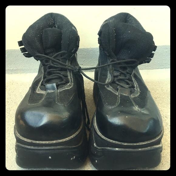 Men's Demonia platform shoes